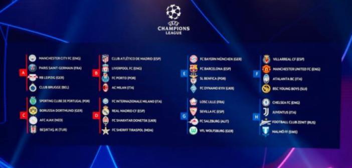 Bugün Şampiyonlar Ligi'nde hangi maçlar var? İşte günün fikstürü...