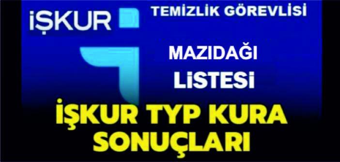 İşte Mazıdağı için İŞ-KUR Kurası ile çekilen Asil ve Yedek TYP Listesi