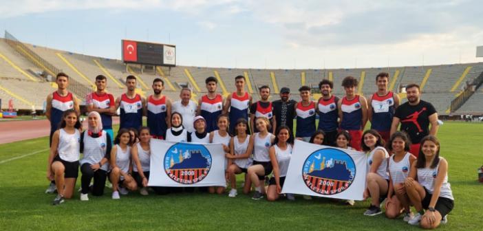 Mardin Atletizm spor kulübü zor olanı başardı