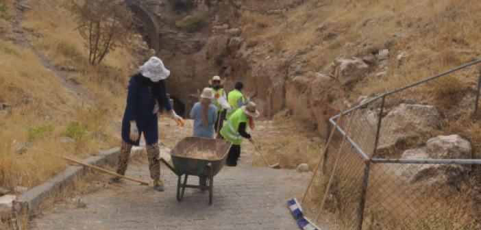Mardin Kalesi'ndeki kazı çalışmaları tamamlandı