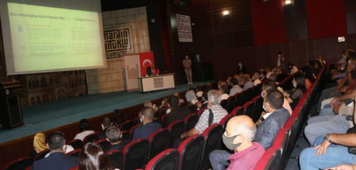 Mardin Valisi Demirtaş STK'larla bir araya gelerek yaptıkları ve yapacakları çalışmaları paylaştı