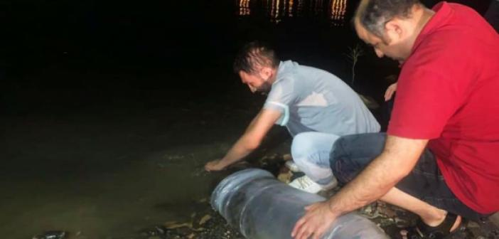 Mardin'de Göletler Balıklandırılıyor