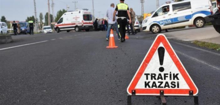 Mardin'de minibüsün devrilmesi sonucu 1 kişi yaralandı