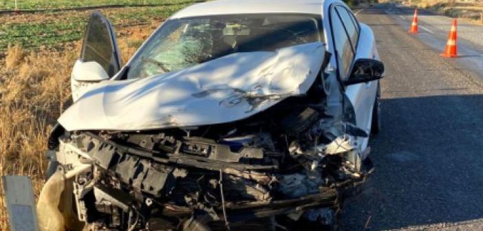 Mardin'de Trafik Kazası!