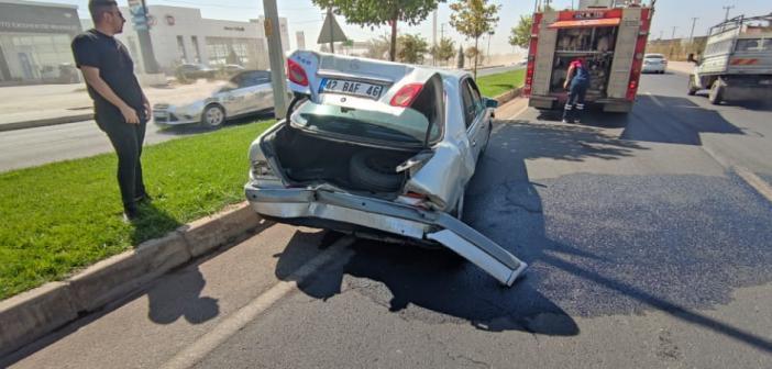 Mardin'de zincirleme kaza: 3 yaralı