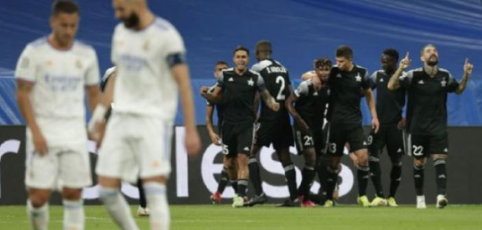Moldova ekibi Şerif Tiraspol Avrupa futbolunu sarsmaya devam ediyor! Şaktar'dan sonra Real Madrid'i de devirdiler... (1-2) İşte maç özeti...