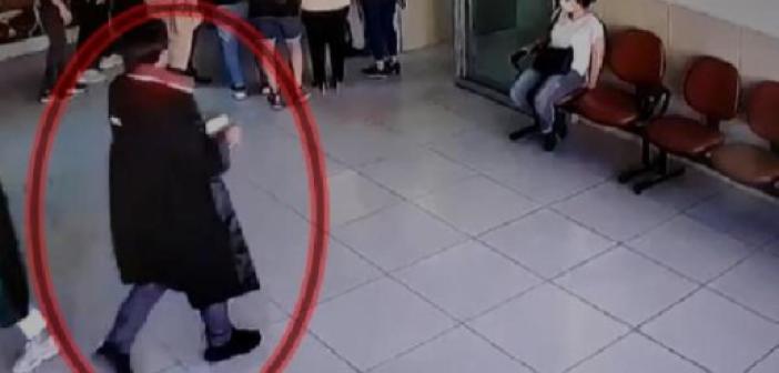 Musa Orhan'ın duruşmasına avukat cübbesiyle girmeye çalışan kişi, polislerin dikkati sayesinde yakalandı