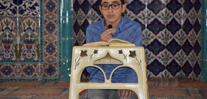"""""""Kur'an-ı Kerim'i Yüzüne Güzel Okuma Yarışması"""" bölge finali Bitlis'te yapıldı"""