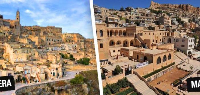 Ruhları kardeş şehirler: Mardin,  Sassi di Matera ve Kudüs