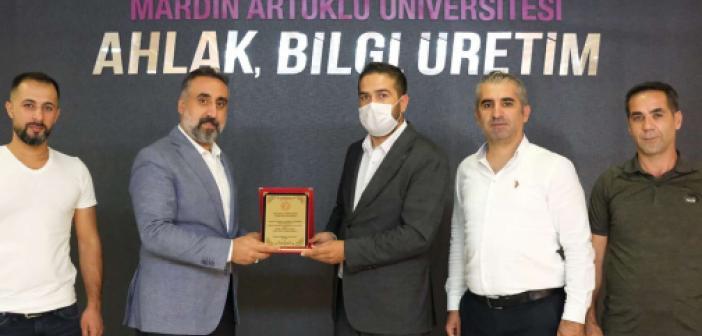 STK'lardan Mardin Artuklu Üniversitesi Rektörüne ziyareti