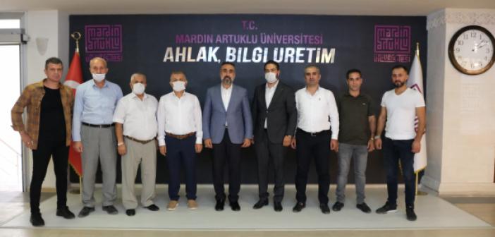 STK'lardan Özcoşar'a Teşekkür Ziyareti