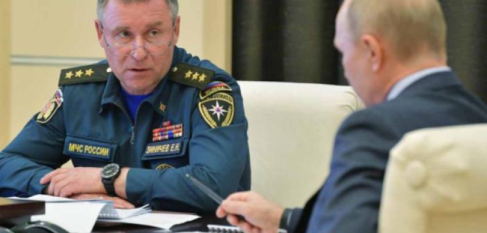 Tatbikatta Ölen Rusya Acil Durumlar Bakanı Yevgeniy Ziniçev kimdir? Yevgeniy Ziniçev nereli, kaç yaşında? Yevgeniy Ziniçev görevi neydi?