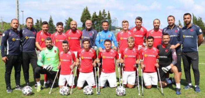 Türkiye Ampute Futbol Milli Takımı oyuncuları ve kadrosu! 2021 Türkiye Ampute Milli Takım Futbol oyuncuları kimlerdir?