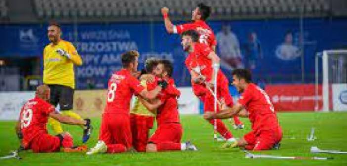 Türkiye Ampute Milli Takımı Avrupa şampiyonu oldu
