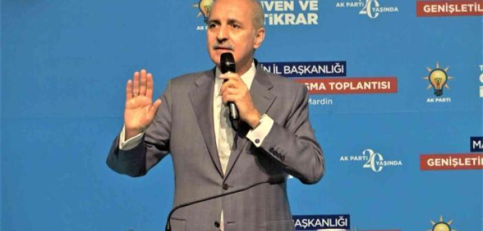 """AK Parti Genel Başkanvekili Kurtulmuş: """"Kılıçdaroğlu 'bir siyasi suikastler'dir tutturmuş, belge varsa ilgili yerlere ilet"""""""