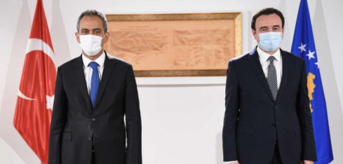 Bakan Özer Kosova Başbakanı Kurti ile görüştü