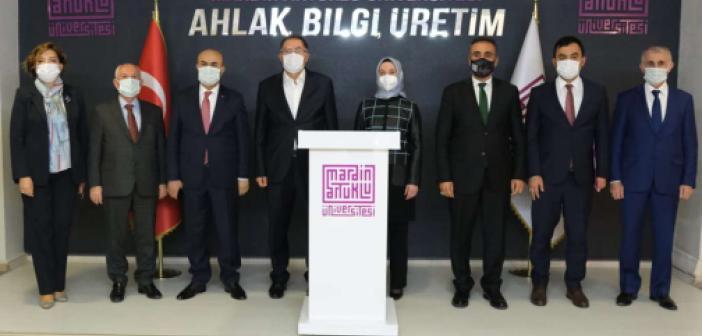 Başdenetçi Malkoç'tan Artuklu Üniversitesi'ne ziyaret