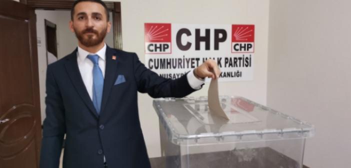 CHP Nusaybin ilçe başkanlığına Şeyhmus Doğan seçildi