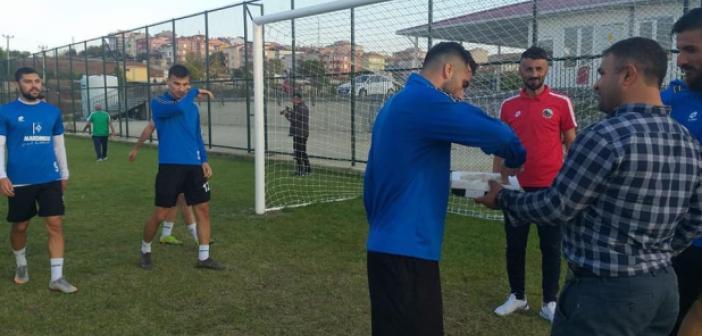 Edirne'deki Mardinliler Mardin Sporu'u karşıladı