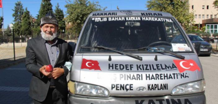 Elmacı Dede Mardin'e ana okul yaptırıyor