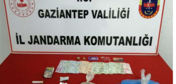 Gaziantep'te bir evde uyuşturucu ele geçirildi