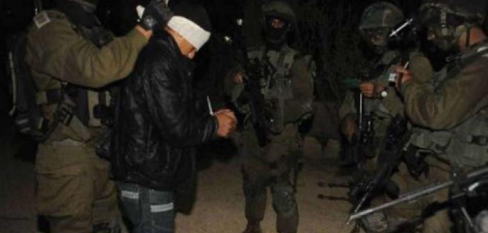 İşgal rejimi Batı Şeria'da baskınlar yapıp 13 Filistinliyi alıkoydu