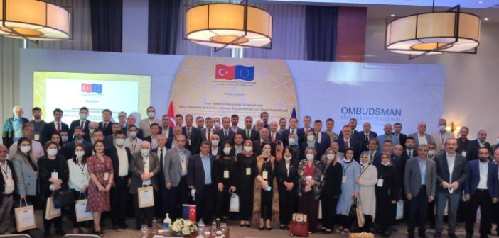 Kamu Başdenetçisi Malkoç, Mardin'de STK temsilcileri ve muhtarlarla buluştu