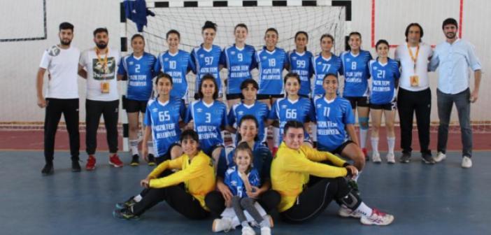 Kızıltepe Kadın Hentbol Takımı 30-24 Galip