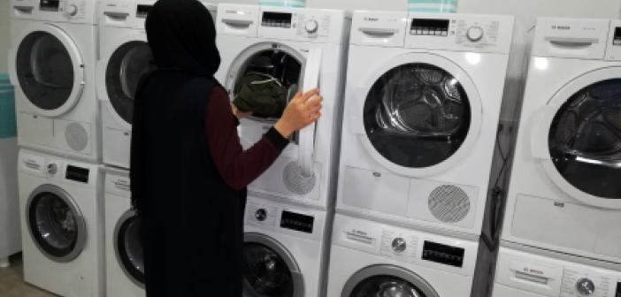 Mardin Büyükşehir Belediyesinden giysi yıkama hizmeti