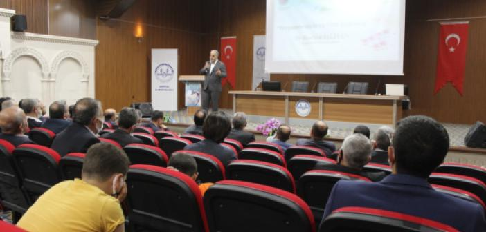 Mardin'de Mevlid-İ Nebi Programı Verilen Konferans İle Tamamlandı