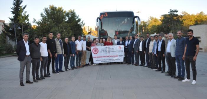 Mardin'de şehit ve gazi ailelerine yönelik Ankara ve Çanakkale gezisi
