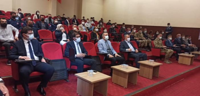Midyat'ta Madde Bağımlığı ve zararları toplantısı düzenlendi