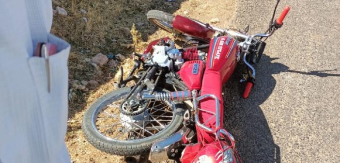 Midyat'ta motorsiklet kazası: 2 yaralı