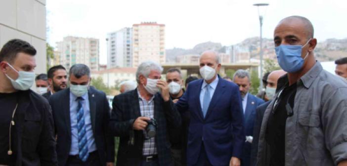 Numan Kurtulmuş Mardin'de STK temsilcileriyle buluştu