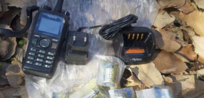 PKK operasyonlarında ülkeler arası görüşme yapabilme özelliğine sahip telsizler ele geçirildi