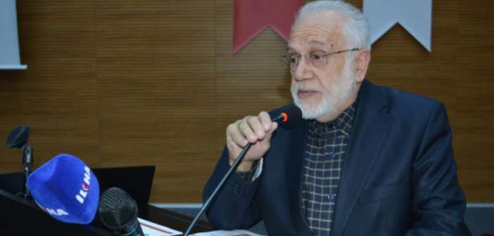 Prof. Dr. Sırma: Teknolojiyle ilim çok kolaylaştı ama yapılmaz oldu