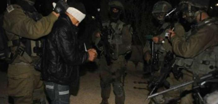 Siyonist işgal rejimi 2'si çocuk 13 Filistinliyi alıkoydu