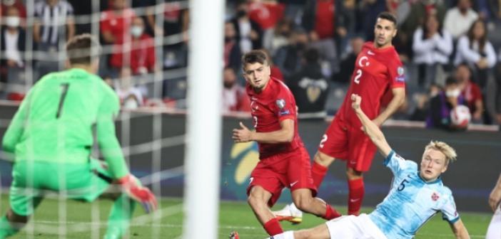 2022 Dünya Kupası Elemeleri: Türkiye 1-1 Norveç (Maç Özeti İzle)