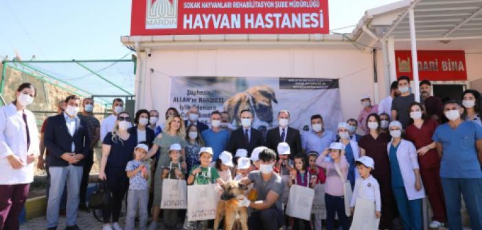 Vali Demirtaş: Hayvan sevgisini çocuklarımıza aşılamalıyız!