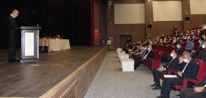 Vali Demirtaş, Muhtar ve Okul Müdürleriyle Bir Araya Geldi