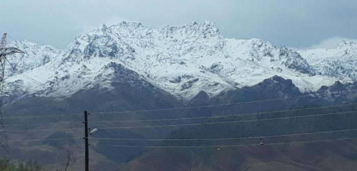 Van'ın yüksek kesimlerine kar yağdı