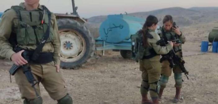 Yahudi işgalciler Filistinlilerin içme suyu kuyularını zehirledi